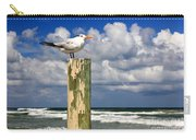 Tern On A Piling Carry-all Pouch