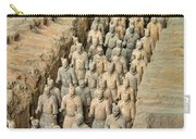 Terra Cotta Warriors Carry-all Pouch
