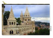 Terraces And Towers Of Fishermans Bastion Carry-all Pouch