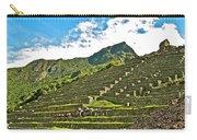 Terraces Of Machu Picchu-peru Carry-all Pouch