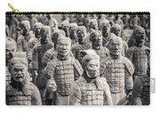 Terracotta Army Carry-all Pouch by Adam Romanowicz
