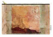 Terracotta Earth Tones Carry-all Pouch
