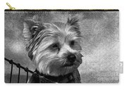 Terrier - Dog - Playing With Light Carry-all Pouch