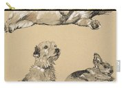 Terriers, 1930, Illustrations Carry-all Pouch