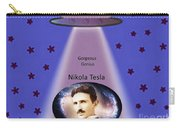 Tesla The Gorgeous Genius Carry-all Pouch