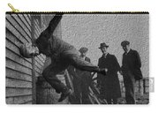 Testing Football Helmets In 1912 Ouchhhhh Carry-all Pouch