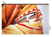 Teton Dacota Indian Woman Detail Carry-all Pouch