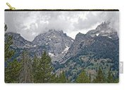 Teton Peaks Near Jenny Lake In Grand Teton National Park-wyoming- Carry-all Pouch