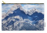 Teton Range And Two Trees Carry-all Pouch