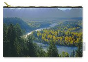 2m9301-teton Range From Snake River Overlook Carry-all Pouch