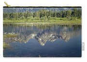 4m9310-teton Range Reflection, Blacktail Pond, Wy Carry-all Pouch