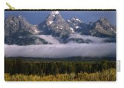 1m9396-tetons Above Fog, Wy Carry-all Pouch