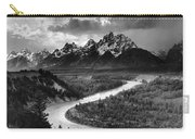 Tetons And The Snake River Carry-all Pouch