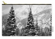 Tetons In Snow Carry-all Pouch