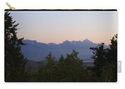 Tetons In The Morning Carry-all Pouch