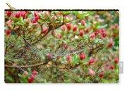 Tetragnathidae Web In Azalea - Cape Cod Ma Carry-all Pouch