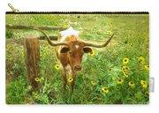 Texan Longhorn Carry-all Pouch