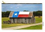 Texas Barn Flag Carry-all Pouch