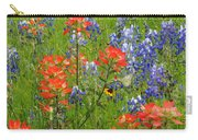 Texas Best Wildflowers Carry-all Pouch