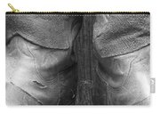 Texas Boots Portrait - Bw 01 Carry-all Pouch