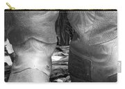 Texas Boots Portrait - Bw 02 Carry-all Pouch