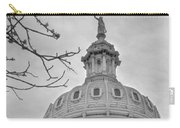 Texas Capital Dome In Monochrome Carry-all Pouch
