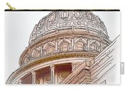 Texas Capitol Sketch Carry-all Pouch