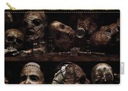 Texas Chainsaw 3d Faces Carry-all Pouch