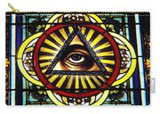 Eye Of Providence Texas Church Window Carry-all Pouch