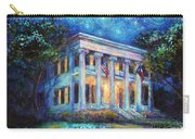 Texas Governor Mansion Painting Carry-all Pouch by Svetlana Novikova