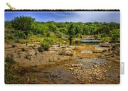 Texas Hill Country Stream Carry-all Pouch by David and Carol Kelly