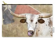 Texas Longhorn # 2 Carry-all Pouch