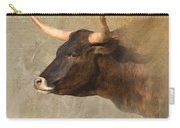 Texas Longhorn # 3 Carry-all Pouch