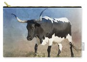 Texas Longhorn #7 Carry-all Pouch by Betty LaRue