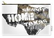 Texas Map Cool Carry-all Pouch