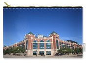 Texas Rangers Ballpark In Arlington Carry-all Pouch by Frank Romeo