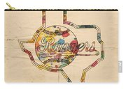 Texas Rangers Logo Vintage Carry-all Pouch