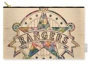 Texas Rangers Poster Art Carry-all Pouch