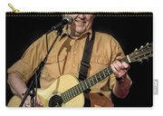 Texas Singer Songwriter Guy Clark In Concert Carry-all Pouch