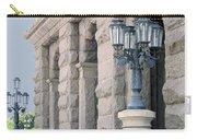 Texas State Capitol North Portico Carry-all Pouch