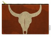Texas State Facts Minimalist Movie Poster Art  Carry-all Pouch