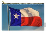 Texas State Flag - Texas Lone Star Flag Carry-all Pouch