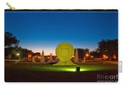 Texas Tech Seal At Night Carry-all Pouch by Mae Wertz