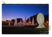 Texas Tech University Seal And Blue Sky Carry-all Pouch