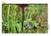 Texas Thistle Carry-all Pouch