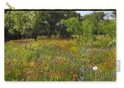 Texas Wildflower Medley Carry-all Pouch
