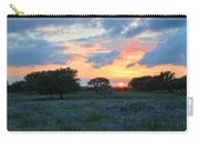 Texas Wildflower Sunset  Carry-all Pouch