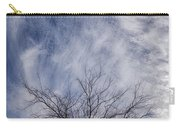 Texas Winter Clouds Carry-all Pouch