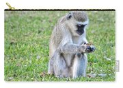 Texting Monkey Carry-all Pouch