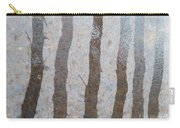 Textural Forest Carry-all Pouch